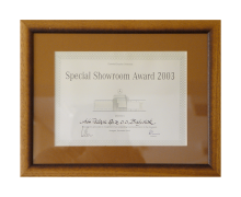 DaimlerChrysler Overseas, Special Showroom Award 2003